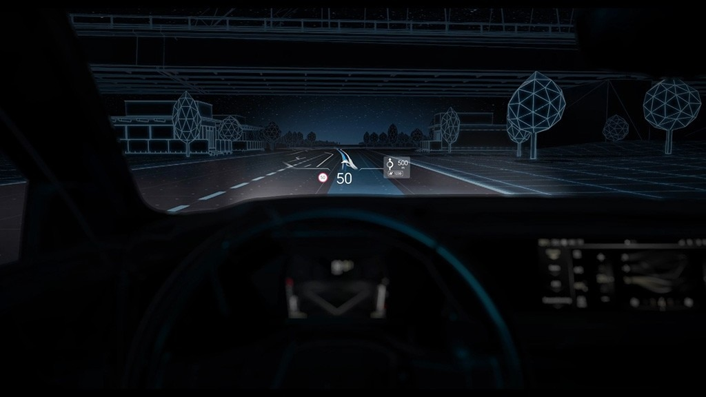 DS EXTENDED HEAD UP DISPLAY